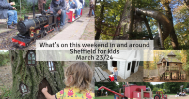 What's on this weekend in and around Sheffield for kids March 23/24