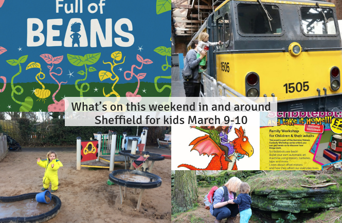 What's on this weekend in and around Sheffield for kids March 9-10