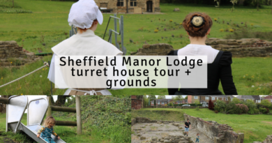 Sheffield Manor Lodge – Turret House Tour + Grounds