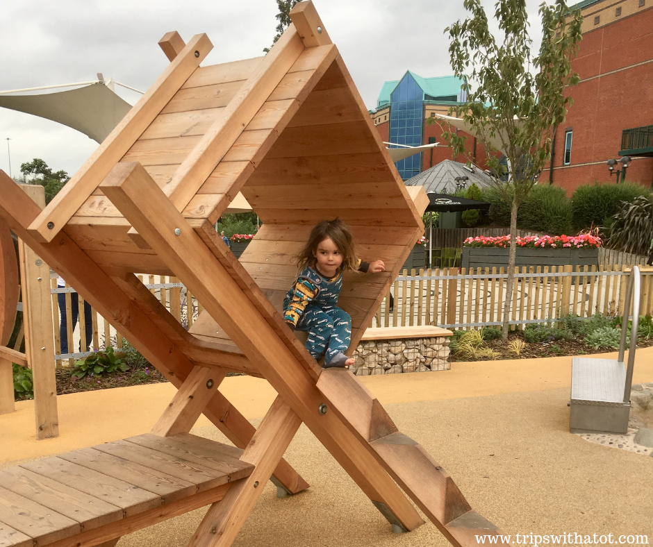 FREE new Riverside Adventure Playground at Meadowhall, Sheffield