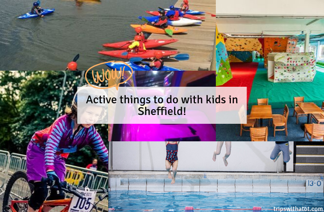 Active things to do with kids in Sheffield